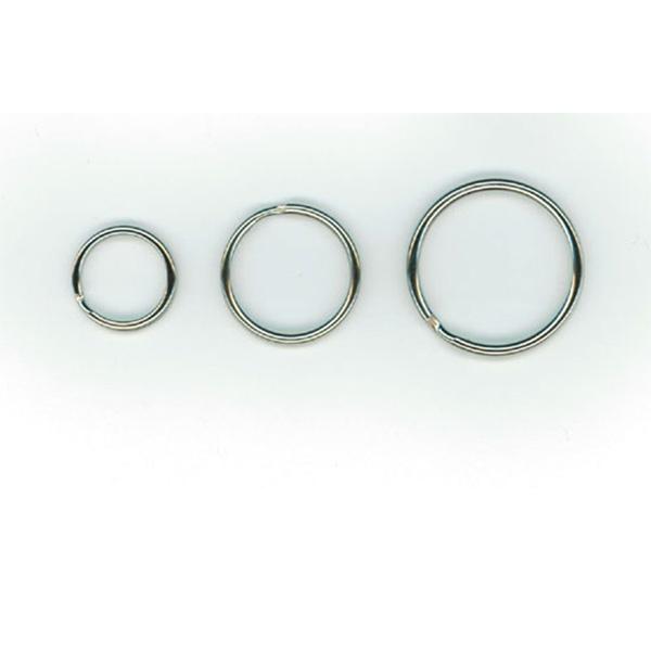 Nøglering i metal Ø 30 mm. Poser med 100 stk