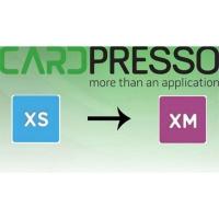 Software opgradering fra CardPresso XS til XM. Køb den på www.rddata.dk