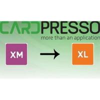 Software opgradering fra CardPresso XM til XL. Køb den på www.rddata.dk