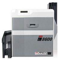 Matica XID 8600 med magnetkoder, duplex print i ekstra høj kvalitet, f.eks. microtekst som værn mod uautoriseret kopiering. Kortprinter til offentlige og finansielle institutioner med behov for høj sikkerhed. 2 års garanti og fri hotline hos RD Data