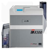 Matica XID 8300 - dobbeltsidet retransfer printer med mulighed for sikkerhedsfunktioner, bl.a. UV print. Print op til 120 kort i timen. Denne printer har kortvender (duplex) modul samt magnetkodning. 2 års garanti og fri hotline service hos RD Data