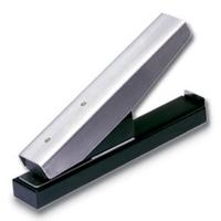 Stansemaskine bordmodel lille, til lokning af aflangt hul 3 x 14 mm. til seleclips, halssnore m.m. fra RD Data