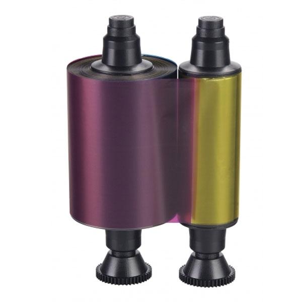 Evolis farvebånd YMCKO R3411, Evolis farvebånd YMCKO til 4-farvet print til model Tattoo2. Til 100 print. Produktnummer: R3411, fra RD Data