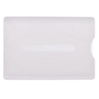 Kortholder hvid, hvidt transparent etui i hård plast med skyder for nem udtagning af plastkortet. Altid billige kortholdere, nøglesnore mm. hos RD Data