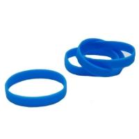 Blå silikone armbånd fra RD Data