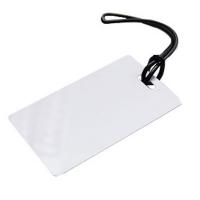Holdbar og fleksibel bagagerem i sort blød silikone. Kan benyttes til flere typer kort, etuier m.m.