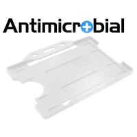 Antibakteriel kortholder, transparent, til medicinalindustrien, sundhedssektoren, hjemmeplejen mv., fra RD Data