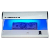 Seddeltester LD-2/LD-3, effektiv sikkerhed mod falske pengesedler. Tester for UV print, vandmærker og magnetisk tryk. Køb den hos RD Data