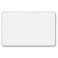 Plastkort hvid, fødevaregodkendt