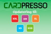 Cardpresso opdateringer